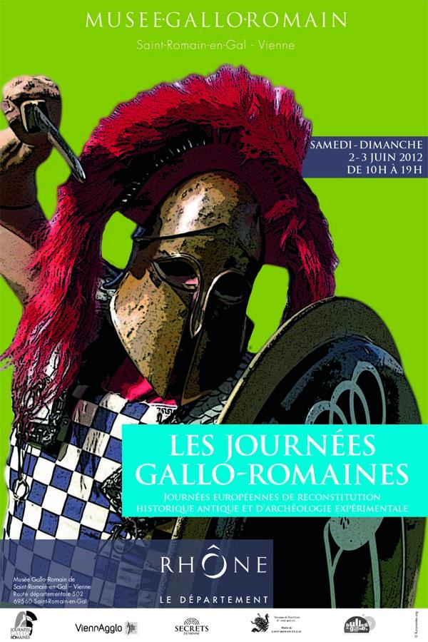 Affiche Journées gallo-romaines 2012 copier