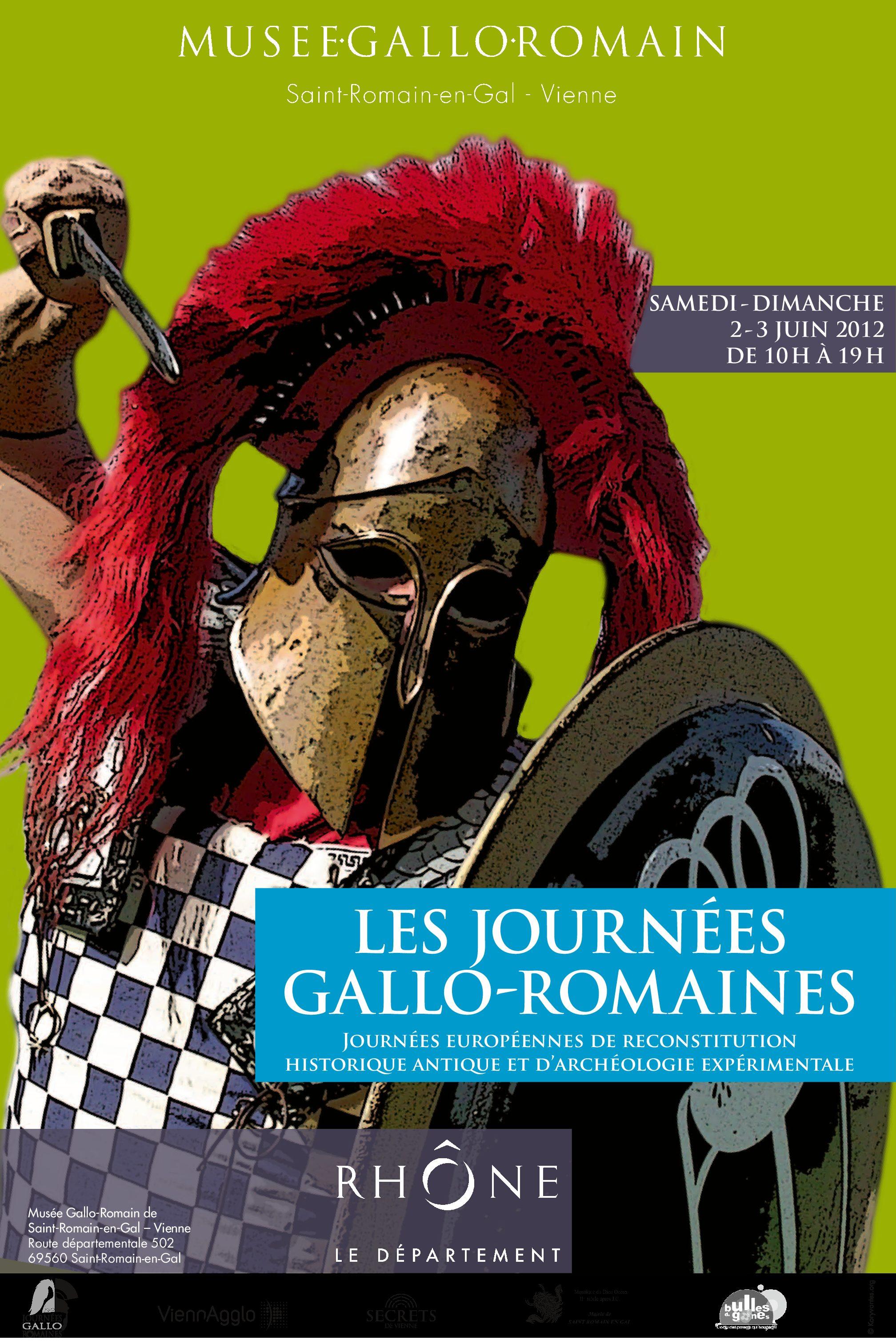 Affiche Journées gallo-romaines 2012