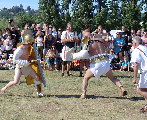 Gladiateurs Ars Dimicandi et Pax Augusta 5