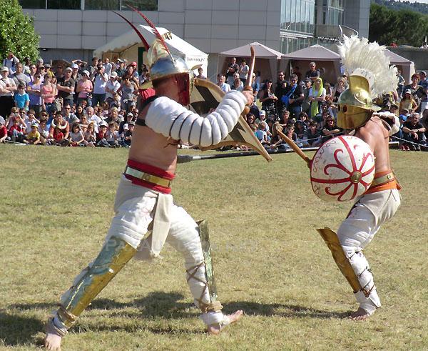 Gladiateurs Ars Dimicandi et Pax Augusta 6