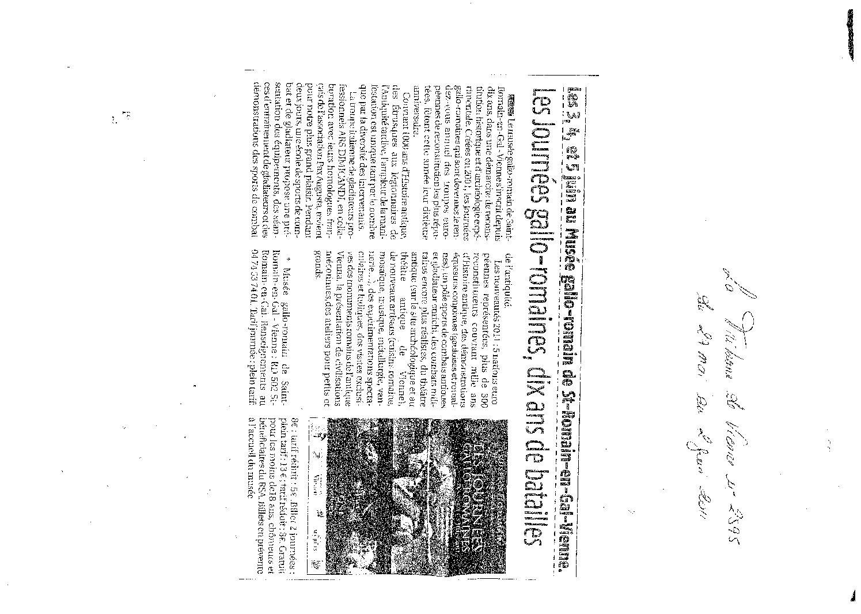 La Tribune de Vienne (numéro 2595, du 27 mai au 2 juin 2011)