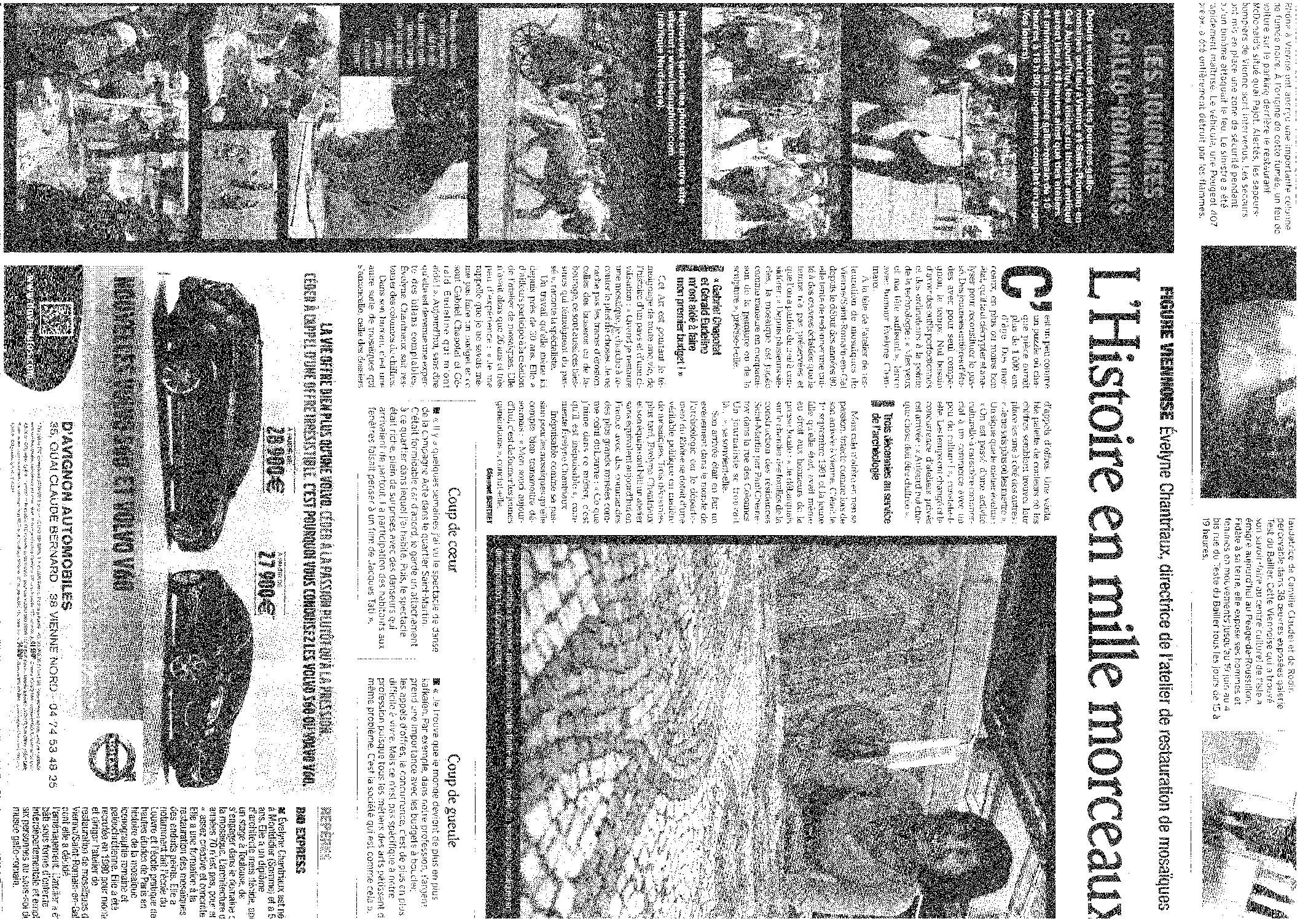Le Dauphiné Libéré (dimanche 5 juin 2011. Page9)