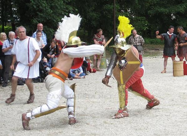 Mirbeau sur Beze gladiateurs 1