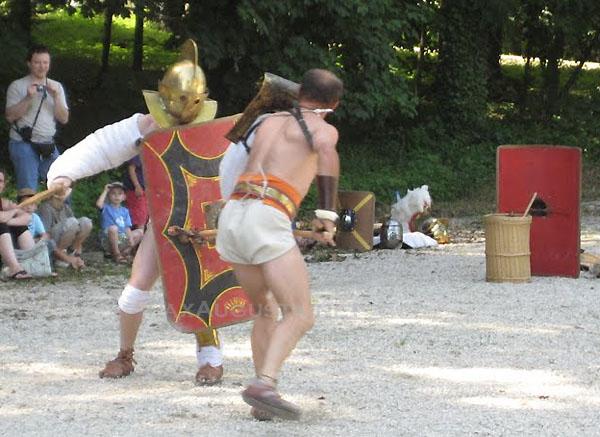 Mirbeau sur Beze gladiateurs 2