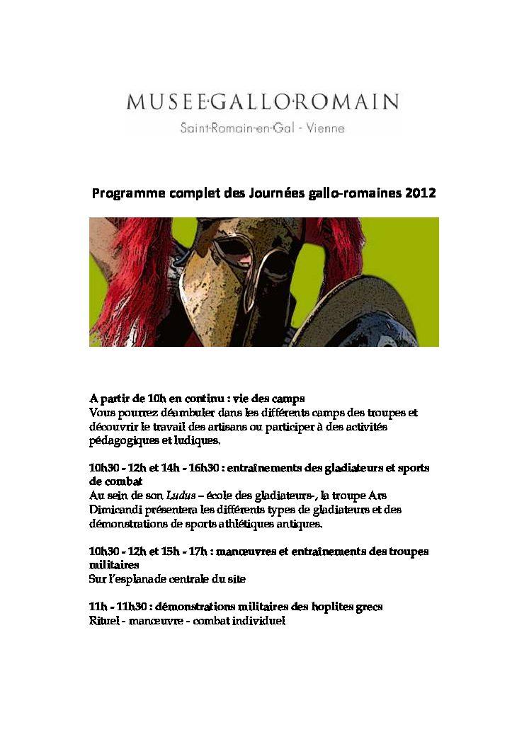 Programme complet JGR 2012 - site internet