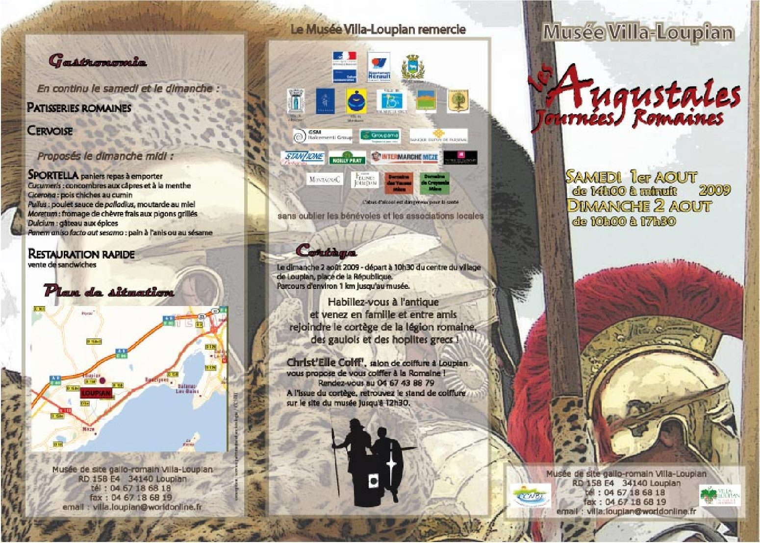programme augustales 2009