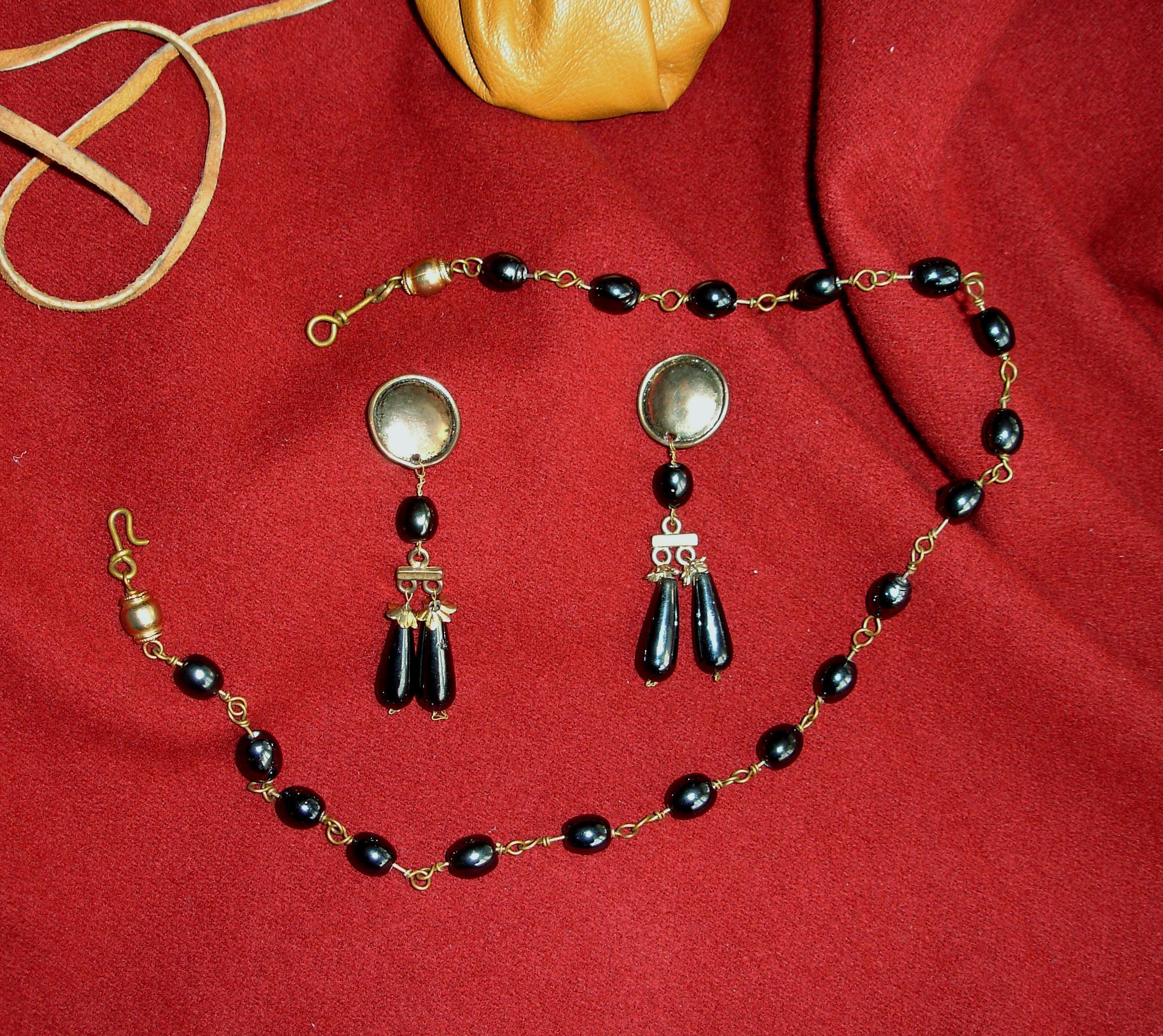 perles noires